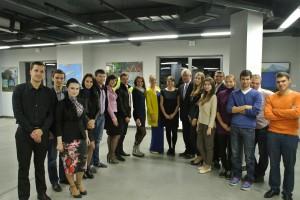 Тимур Гафин и студенты